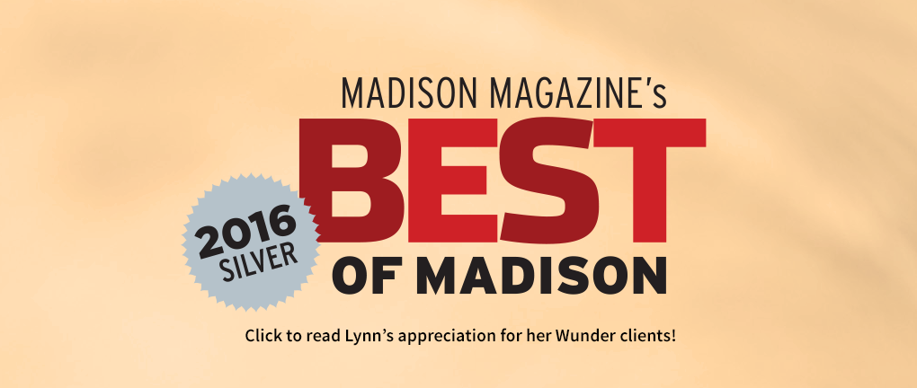 We're a Best of Madison 2016 Winner!